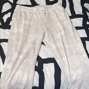 Old Navy White Bleach Sweatpants